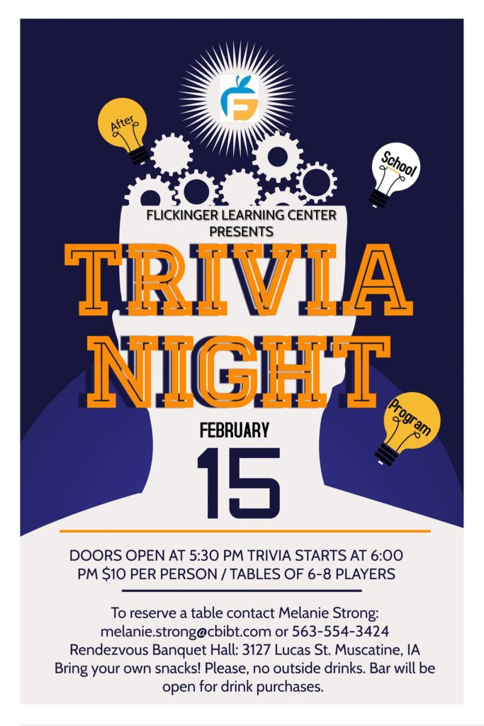 Trivia Night Feb 15, 2020